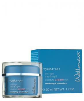 Wellmaxx Hyaluron Creme Tiegel - 50ml