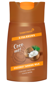XTRA brown Coconut Tanning Lotion - 200ml