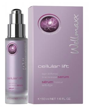 Wellmaxx Cellular Lift age defense line release serum - 50ml